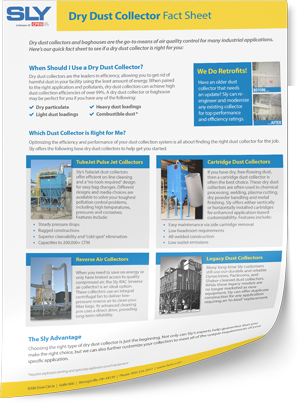 Dry Dust Collector Fact Sheet